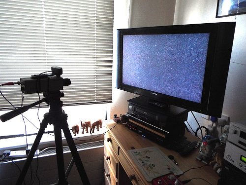 Photo of the actual setup used.